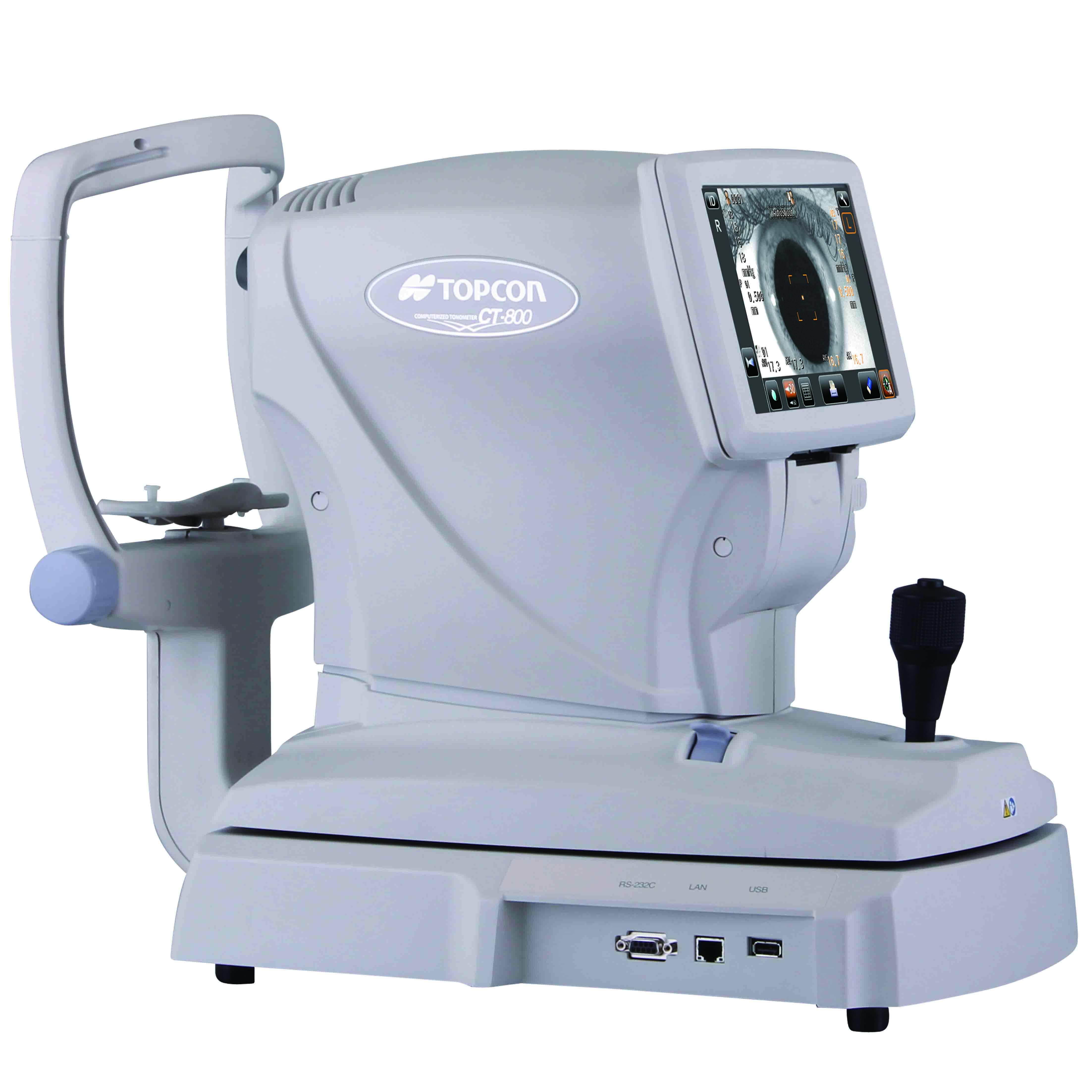 日本拓普康CT-800电脑非接触眼压计